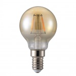 Nordlux E14 LED Warmweiss 1, 2W Golden