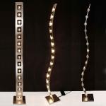 Holländer 300 K 11106 S Stehleuchte 15-flammig Cubo Eisen-Glas Silber