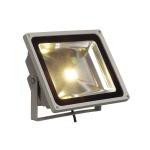 SLV LED Outdoor Beam silbergrau 50W warmweiss 100° IP65 231122