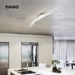 Grossmann 78-765-072 Piano LED-Deckenleuchte 114cm 5440lm Alu-matt