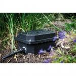 Paulmann 98847 Garten Outdoorbox IP65 Schwarz Verkabelungsbox