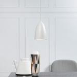 Licht-Trend MiraMira LED Pendelleuchte Ø 10cm weiss