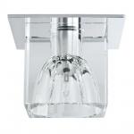 Paulmann Quality EBL Set Glassy Cube 3x10W 60VA 230/12V G4 83/83mm Klar/Chrom Glas/Metall