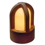 SLV 229430 Rusty Cone Bodenleuchte / eisen gerostet / E14 / max. 40W / IP54