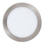 Eglo 31676 Fueva 1 LED Einbauspot Ø 22, 5cm 2080lm Nickel-Matt