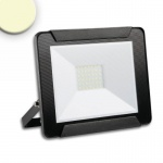 LED Fluter Warmweiss 30 W / 2400lm, IP65 / Schwarz