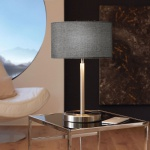 Eglo 95352 Romao LED Tischleuchte mit Touch-Schalter 1020lm Chrom Grau