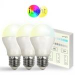 Starter-Set 3x E27 iLight LED + Touch-Panel CCT LED Leuchtmittel Lampe