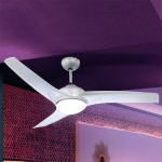 Ventilator Primo 2 x E14 Silber