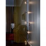 Konstsmide 2372-100 LED Biergartenkette 5er klar mit Timer / 40 warmweisse Dioden, batteriebetrieben Lichterkette