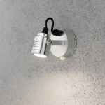 Konstsmide 7941-310 Monza Sensor LED Aussen-Wandleuchte schwenkbar mit Bewegungsmelder