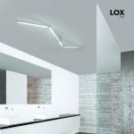 Grossmann 76-768-072 Lox LED-Deckensystem 142cm 4080lm Alu-matt