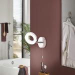Eglo 94756 Gonaro LED Spot 1 x 38 W Stahl Chrom Kunststoff Weiss