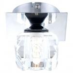 Globo 5692-1 Cubus / Wand- & Deckenleuchte Spot Chrom Kristallwürfel 40W G9