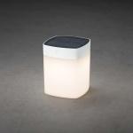Konstsmide 7806-202 Assisi Solar LED Leuchte Weiß opales Acrylglas