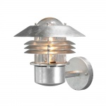 Konstsmide 7302-320 Modena Aussen-Wandleuchte galvanisierter Stahl klares Glas
