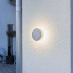 Konstsmide 7909-310 Pesaro LED Aussen-Wandleuchte mit Distanzhalter / Grau