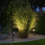 Konstsmide 7648-000 Amalfi LED Erdspießleuchte 1-flg. 12V Schwarz