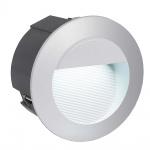 Eglo 95233 Zimba LED Aussen-Wandeinbauleuchte 320lm Silberfarben