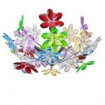 Rainbow Deckenleuchte mit bunten Acrylblättern Deckenlampe