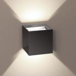 s.LUCE Ixa LED Wandleuchte verstellbare Winkel Wandlampe anthrazit