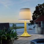 Konstsmide 7109-102 Assisi Solar LED Tischleuchte Gelb