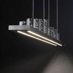 Paul Neuhaus 2067-55 Skyline LED Pendelleuchte + Fb. 2 x 12W + 10 x 0, 6W 3000K RGB