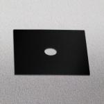 s.LUCE Dekoplatte Schwarz passend zu Beam 12 x 12cm Zubehör Innen