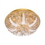 LeuchtenDirekt 50382-10 Sylla LED Deckenleuchte Kristallglas + Anhänger / 10 x G4 14W + 88 x LED 0, 0