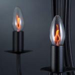 Paulmann E14 Flackerkerze Glühlampe 3W / Ambientelicht Dekoleuchtmittel
