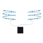 Paulmann 707.02 LED Mobil Stripe Blau 2x80cm 1, 2W batteriebetrieben