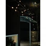 Konstsmide 2387-100 LED Biergartenkette 40er klar 80 warmweisse Dioden 24V Lichterkette