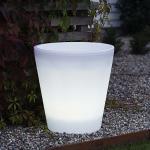 Konstsmide 7638-000 Assisi LED Pflanzentopf 40 cm / 3000K