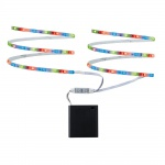 Paulmann 707.00 LED Mobil Stripe RGB 2x80cm 1, 2W batteriebetrieben