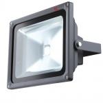 PROJECTEUR LED Baustrahler 30W / IP65 / dunkelgrau / Aussenstrahler