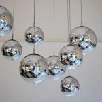 s.LUCE pro Fairy Spiegelkugel Ø 40cm mit 5m Kabel Restaurant- & Hotelbeleuchtung Galerieleuchte