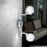 Orina Deckenstrahler 2-flammig 25cm Deckenlampe Deckenspot Leuchte