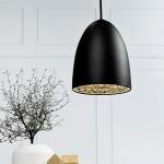 Licht-Trend MiraMira / Pendelleuchte Ø 20cm / schwarz Hängeleuchte