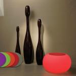 Moree Bubble Outdoor LED Tisch oder Hocker Pro Dekorationslampe