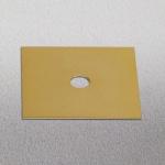 s.LUCE Dekoplatte Gold passend zu Beam 12 x 12cm Zubehör Innen