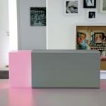 Moree Eraser 260 LED Tischleuchte Silber Tischlampe
