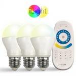 Starter-Set 3x E27 iLight LED + Fernbedienung CCT LED Leuchtmittel Lampe