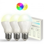 Starter-Set 3x E27 iLight LED + Touch-Panel CCT LED Leuchtmittel Lampe