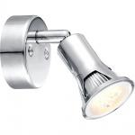Globo 57994-1 Dante / Strahler Chrom / GU10 LED