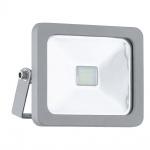Eglo 95403 LED Aussenstrahler Faedo 1 / 10W / 900 Lumen / Silber
