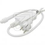 LED System-Anschlußleitung 230V 1, 8m Weiß