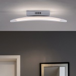 Paul Neuhaus 9301-17 Paola LED Wandleuchte + Wippschalter / 10, 40W / 3000K / Chrom
