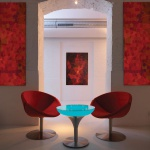 Moree Lounge M 55 LED Tisch mit Akku Dekorationslampe
