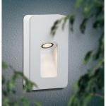 Paulmann Special ABL Set IP44 Wand Slot LED 2, 4W 93mm Weiß-Matt Alu 93809