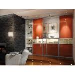 Paulmann Living Carvu Stehleuchte 1x25W ESL E27 Chrom/Opal/Satin 230V Metall/Glas